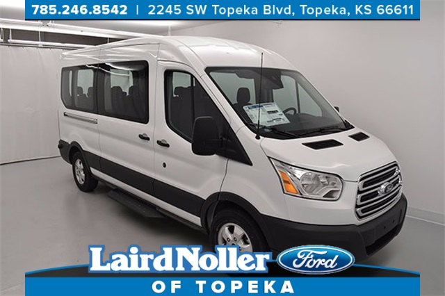 new 2017 ford transit 350 xlt 3d medium roof wagon in topeka ub1193 laird noller ford. Black Bedroom Furniture Sets. Home Design Ideas